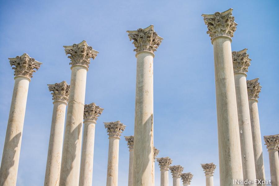colonnes transferees en 1958