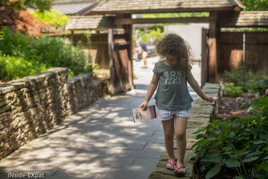 Fin de la visite du Bonsai Museum