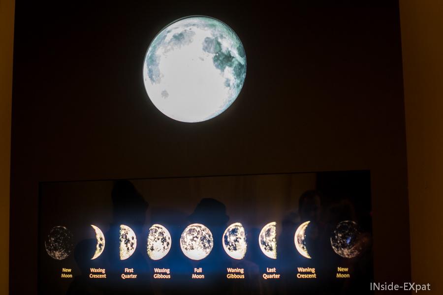 Les changements de lune
