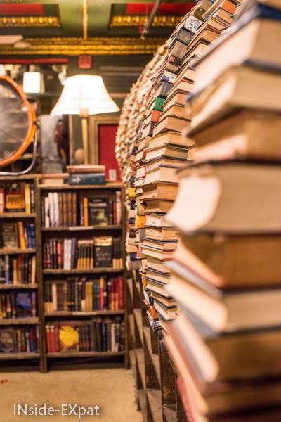 Etageres de livres