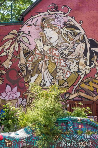 Murals in Toronto