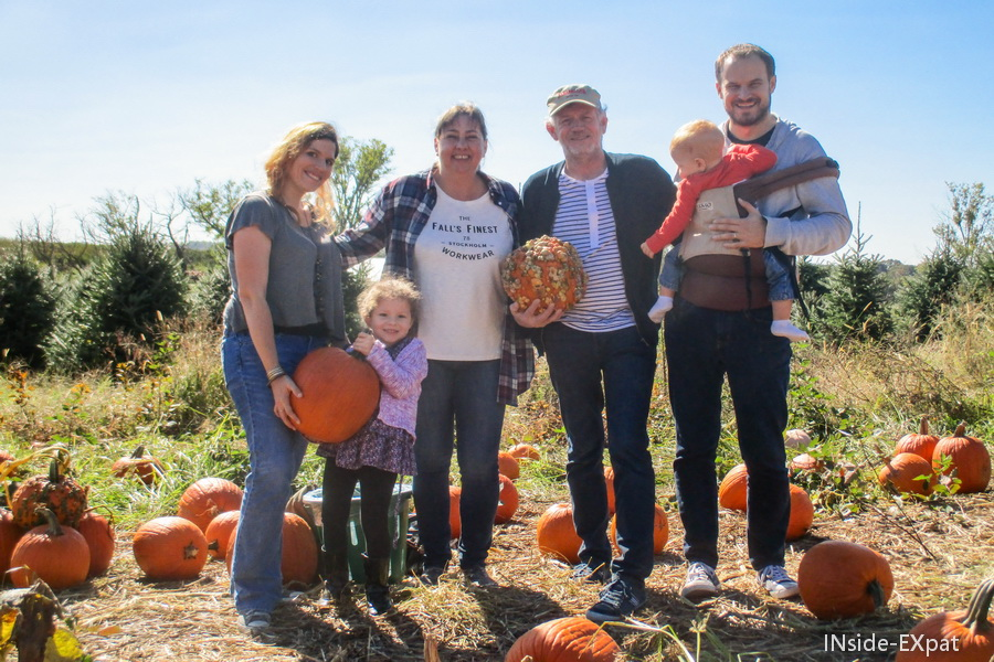 Pumpkin Patch en famille