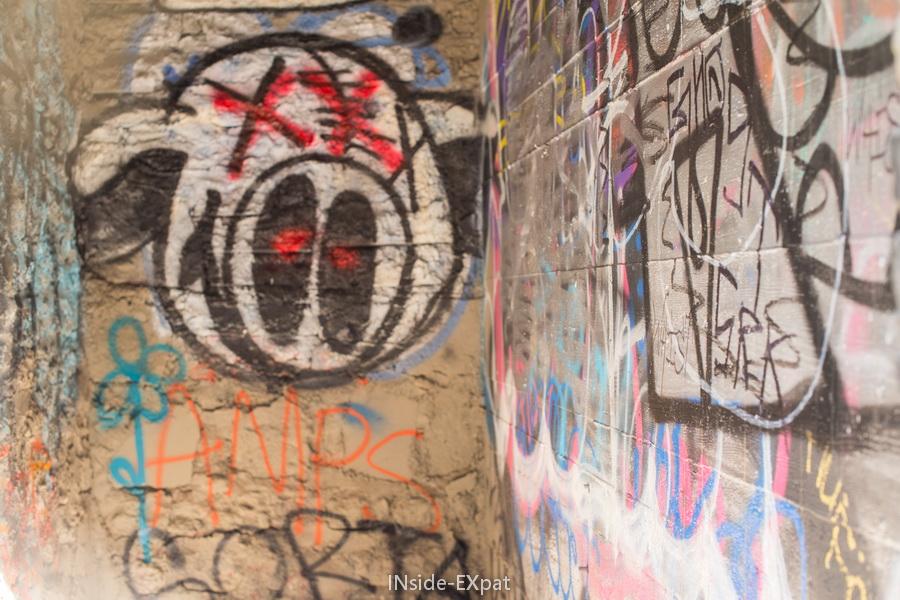 Graffiti du vieux zoo de LA