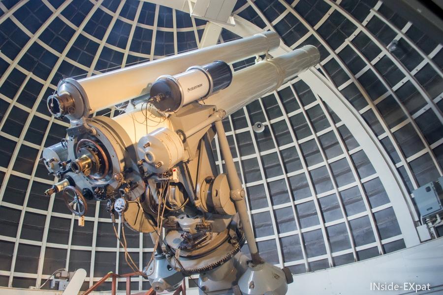 telescope de l'observatoire
