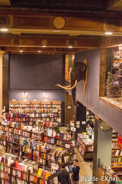 la librairie vue d en haut