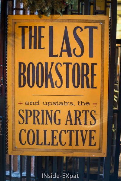 The last bookstore affiche