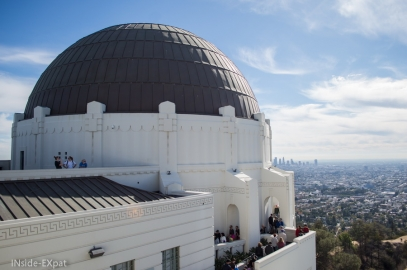Griffith Park : l'Observatoire et le Vieux Zoo (Los Angeles, CA)