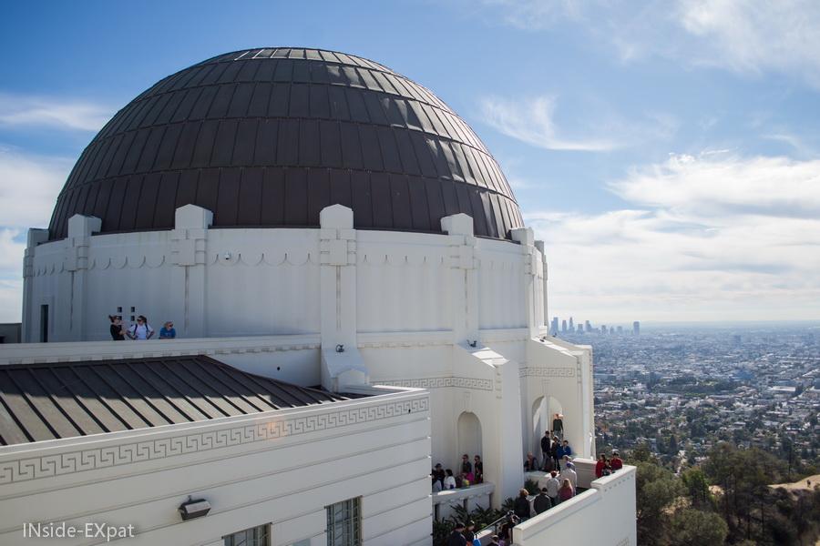 LA depuis le Griffith Observatory
