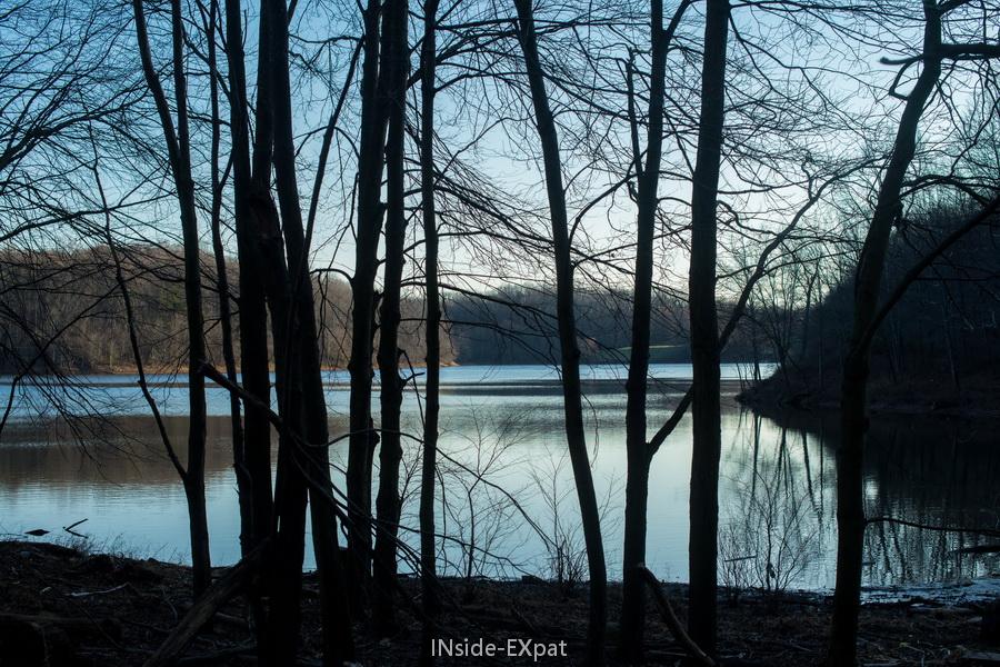 Lake Frank - Ombres et lumière
