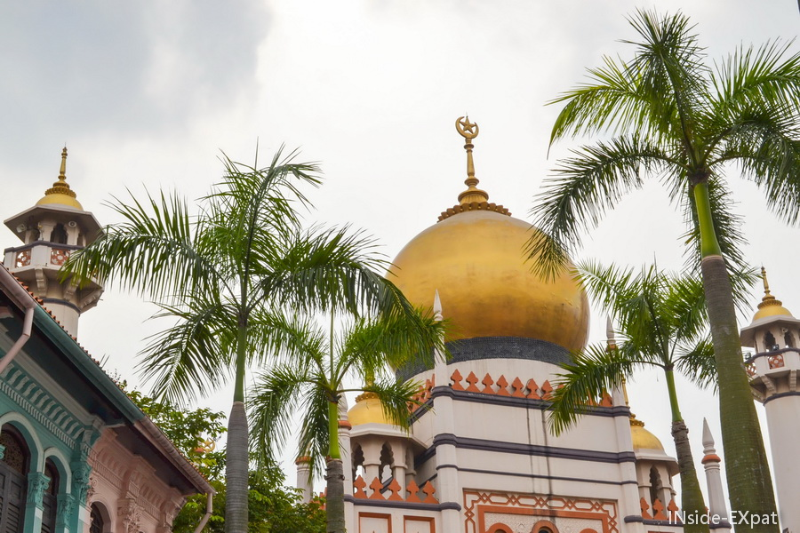La mosquée de Singapour