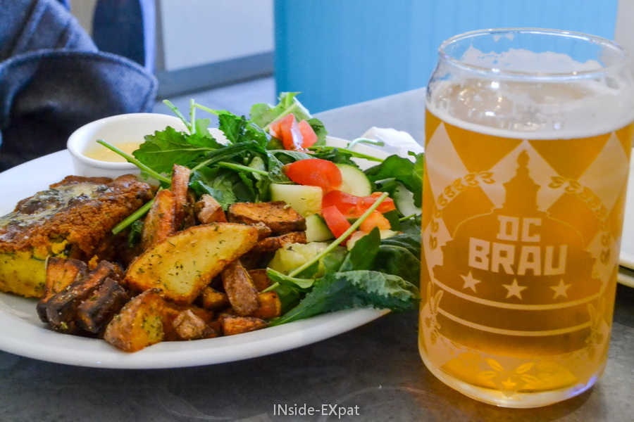 Vegan brunch and DC Brau