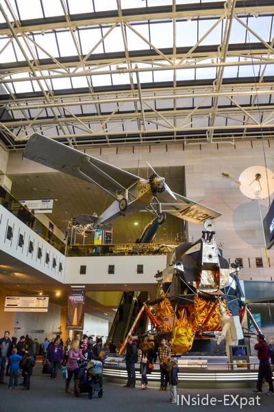 Premier coup d'oeil au Air & Space Museum