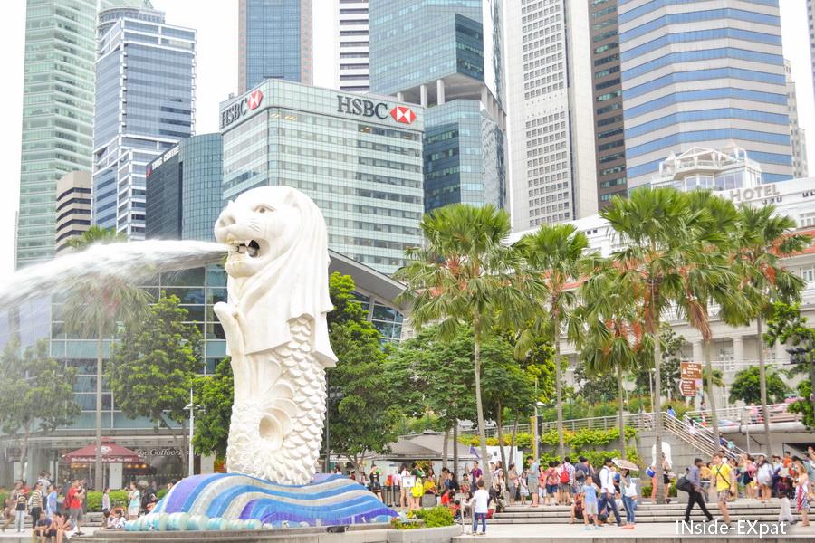Merlion - Singapour