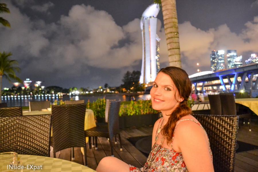 Mummy B. et le Marina Bay Sands