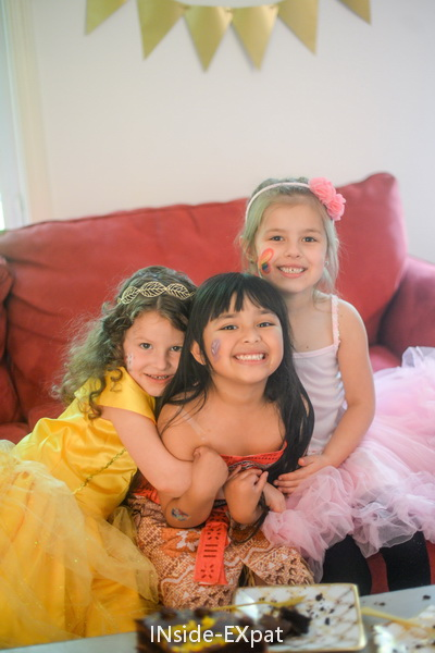Mimi, Yulianna et Bailey