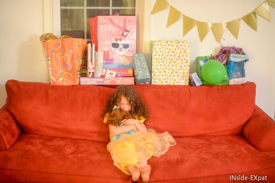 Mimi et ses cadeaux