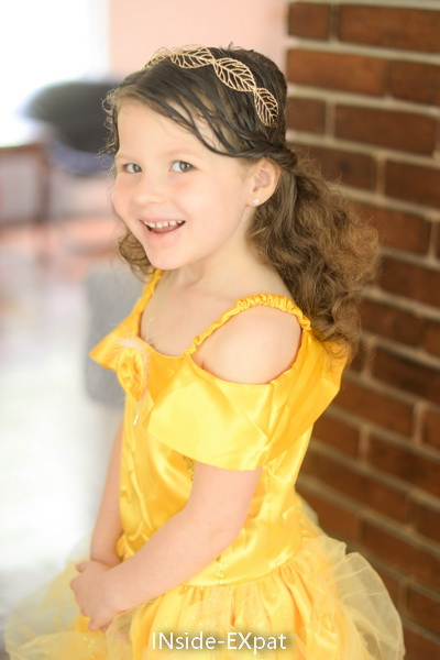 Mimi as Princess Belle
