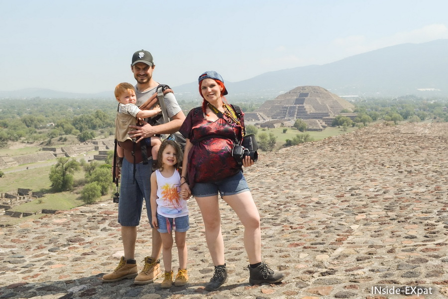 La B Family à teotihuacan
