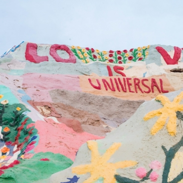 Salvation Mountain, un projet entre art, folie et foi religieuse (Slab City, CA)