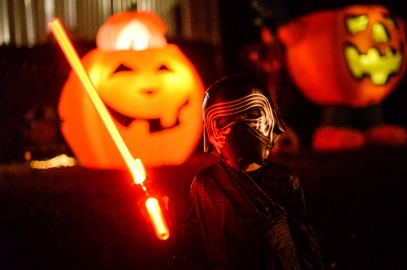 May the treat be with you ou notre Halloween en famille Star Wars (Rockville, MD)