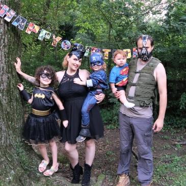 Organiser une fête d'anniversaire de super-héros