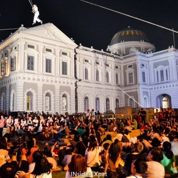 Art et Culture au Singapore Night Festival