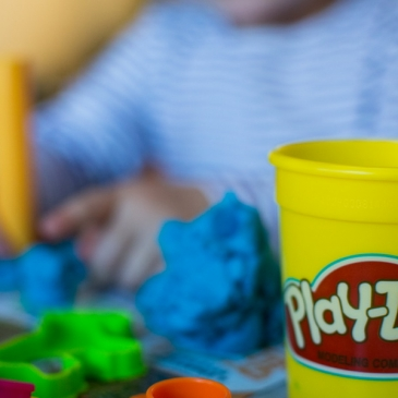 Creative hobbies for children: Play dough workshop