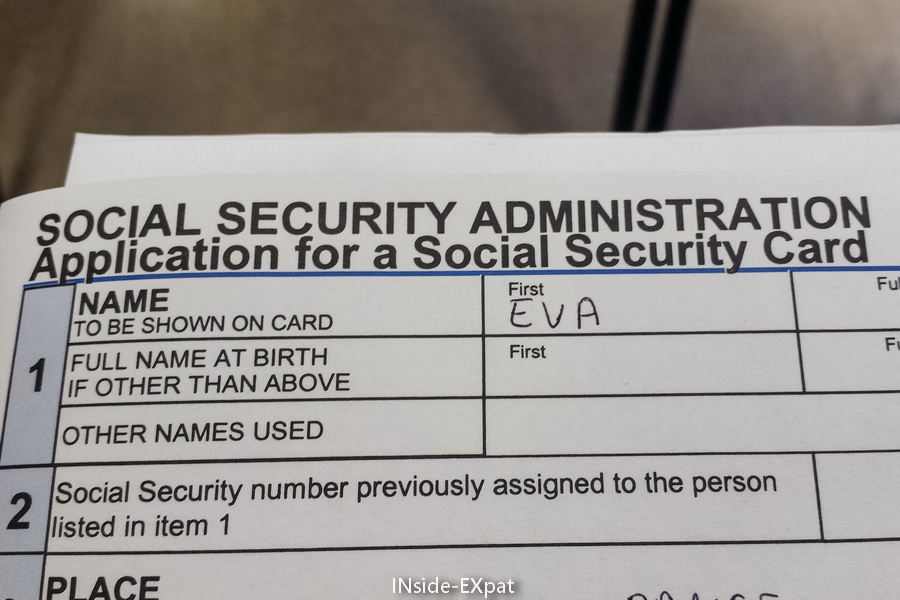 Social Security Card Replacement Application Form | Infocard.Co