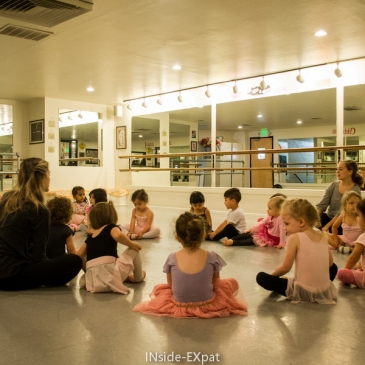 Mon cours de danse à la Ballet School (Walnut Creek, CA)
