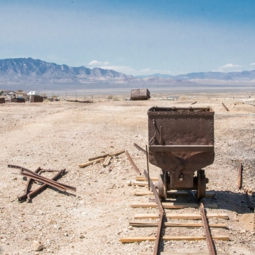 Let's go back in time and explore a silver mine in Central Nevada! (Tonopah, NV)