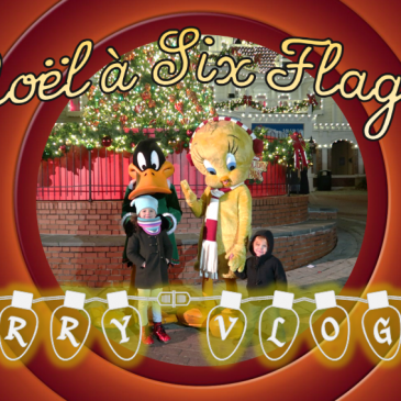 MERRY VLOG 1 – Noël au parc Six Flags America (Upper Marlboro, MD)